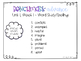 Benchmark Advance 3rd Grade BUNDLED Spelling Lists for Units 1-10