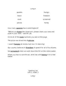 Benchmark Advance 3rd Grade Spelling Resource BUNDLE