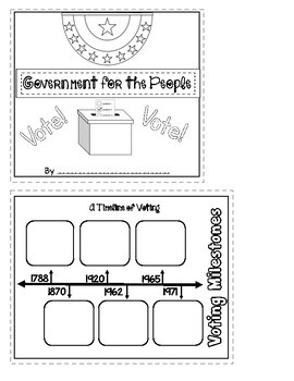 Benchmark Advance 3rd Grade Unit 1 Govt. for the People Project (California)