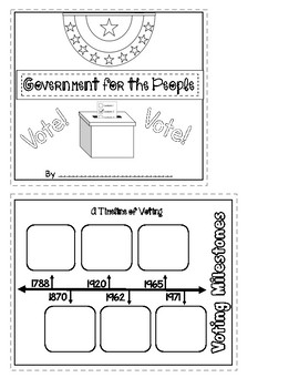 Benchmark Advance 3rd Grade Unit 1 Govt. for the People Project (National)