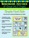 Benchmark Advance 3rd Grade Unit 2 Graphic Novel Fable Project