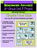 Benchmark Advance 3rd Grade Unit 2 Graphic Novel Fable Project (National)