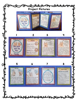 Benchmark Advance 3rd Grade Unit 6 Folktale Storyboard Project: California