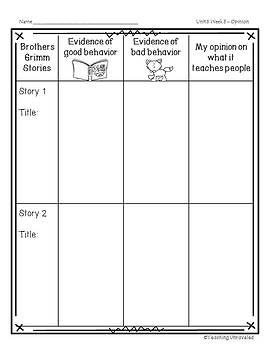 Benchmark Advance 3rd Grade Unit 6 Weekly Writing
