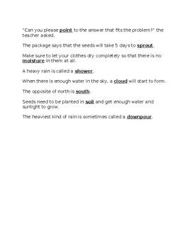 Benchmark Advance 3rd Grade Unit 8 Spelling Resource