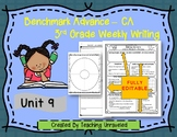 Benchmark Advance 3rd Grade Unit 9 Weekly Writing