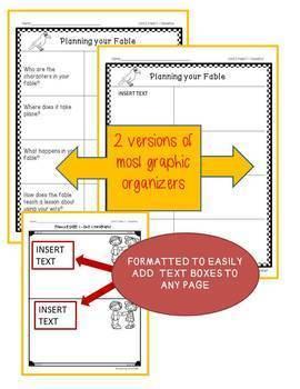 Benchmark Advance 3rd Grade Writing Resources - EDITABLE BUNDLE