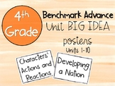 Benchmark Advance 4th Grade Big Idea Posters