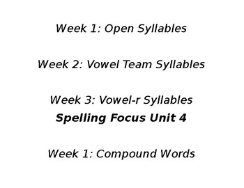 Benchmark Advance 4th Grade Spelling Focus