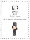 Benchmark Advance 4th Grade Unit 1 ELD Companion