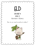 Benchmark Advance 4th Grade Unit 2 ELD Companion