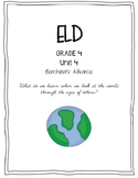 Benchmark Advance 4th Grade Unit 4 ELD Companion