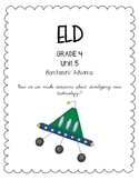 Benchmark Advance 4th Grade Unit 5 ELD Companion