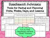 "Benchmark Advance* 5, 6, and 7 Day ""Week"" Planning Tools"