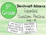 Benchmark Advance 5th Grade Essential Question Poster
