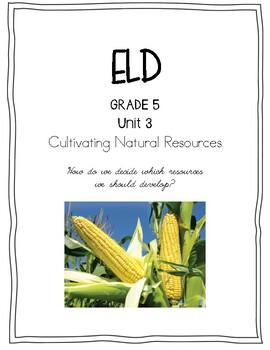 Benchmark Advance 5th Grade Unit 3 ELD Companion