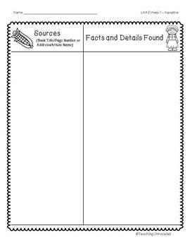Benchmark Advance 5th Grade Unit 3 Weekly Writing