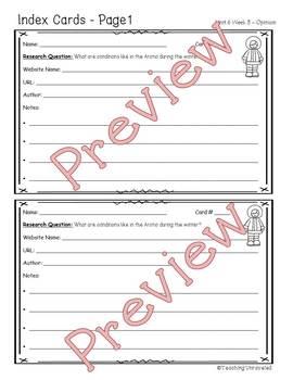 Benchmark Advance 5th Grade Unit 6 Weekly Writing