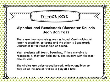 5b. Benchmark Advance ABC Bean Bag Toss