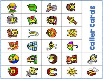 5f. Benchmark Advance  ABC Lowercase Bingo