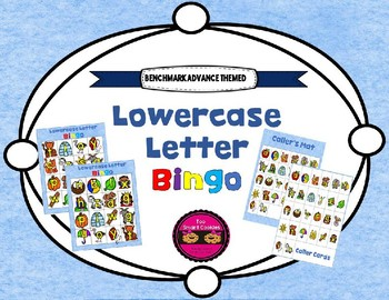 Benchmark Advance  ABC Lowercase Bingo