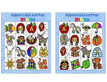 5g. Benchmark Advance ABC Uppercase Bingo
