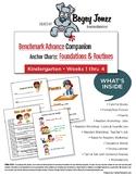 Benchmark Advance Anchor Charts Kindergarten Weeks 1 thru 4