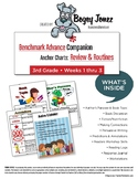 Benchmark Advance Anchor Charts Review and Routines 3rd Grade Weeks 1-3