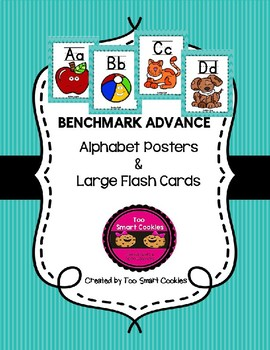 Benchmark Advance Blue Framed Wall Posters & Flash Cards