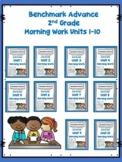 Benchmark Advance Bundle 2nd Grade Morning Work Units 1-10