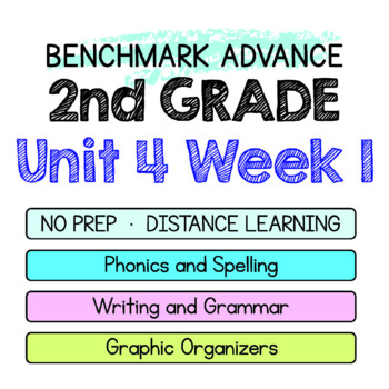 Benchmark Advance - 2nd Grade Unit 4 Week 1 - Thinking Maps & Activities