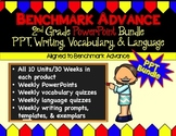 Benchmark Advance (Ca.) PPT Bundle for 2nd Grade (PPT, Wri