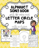 Benchmark Advance CA Alphabet Song Book QR Codes Letter Circle Maps w Pictures