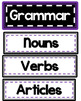 Benchmark Advance CA First Grade Unit 2 Focus Wall Easy to edit/change colors
