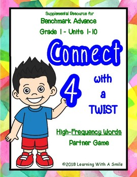 Benchmark Advance CONNECT 4 HFW Partner Game UNITS 1-10