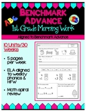 Benchmark Advance First Grade Morning Work (California)