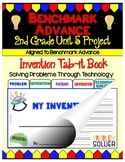 Benchmark Advance (Ca.) Second Grade Unit 5 Invention Project (Tab-it)