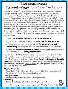 Benchmark Advance Companion Pages * Grade 3, Unit 4