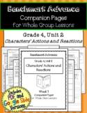 Benchmark Advance Companion Pages * Grade 4, Unit 2* GOOGLE and Print Version