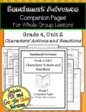 Benchmark Advance Companion Pages * Grade 4, Unit 2