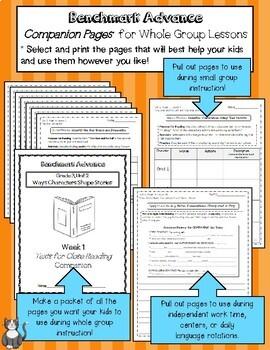 Benchmark Advance Close Reading Companion Pages* Grade 4, Unit 4