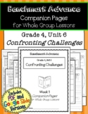 Benchmark Advance Companion Pages * Grade 4, Unit 6 * GOOGLE and Print Version