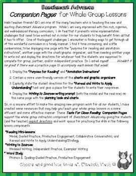 Benchmark Advance Companion Pages * Grade 5, Unit 4