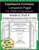 Benchmark Advance Companion Pages * Grade 5, Unit 4 * GOOGLE and PDF Version!