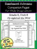 Benchmark Advance Companion Pages * Grade 5, Unit 6 *GOOGLE and PDF VERSION!