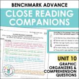 Benchmark Advance Close Reading Companions (Fourth Grade, Unit 10)