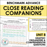 Benchmark Advance Close Reading Companions (Fourth Grade, Unit 8)