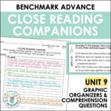 Benchmark Advance Close Reading Companions (Fourth Grade, Unit 9)