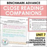 Benchmark Advance Close Reading Companions (Third Grade, Unit 7)