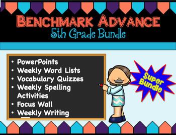 Benchmark Advance Companion: Fifth Grade Super Bundle - All Products